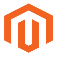 Magento platform logo using developers